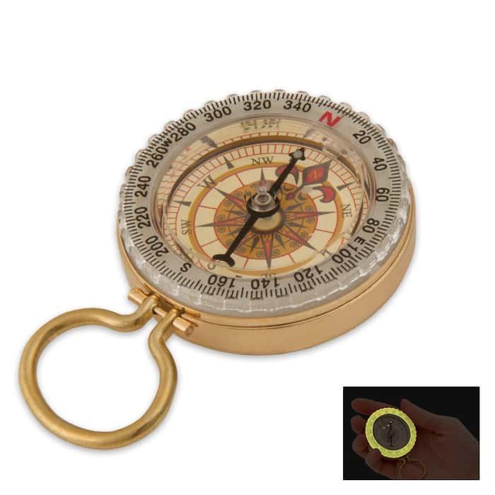 Black Legion Glow-In-The-Dark Compass