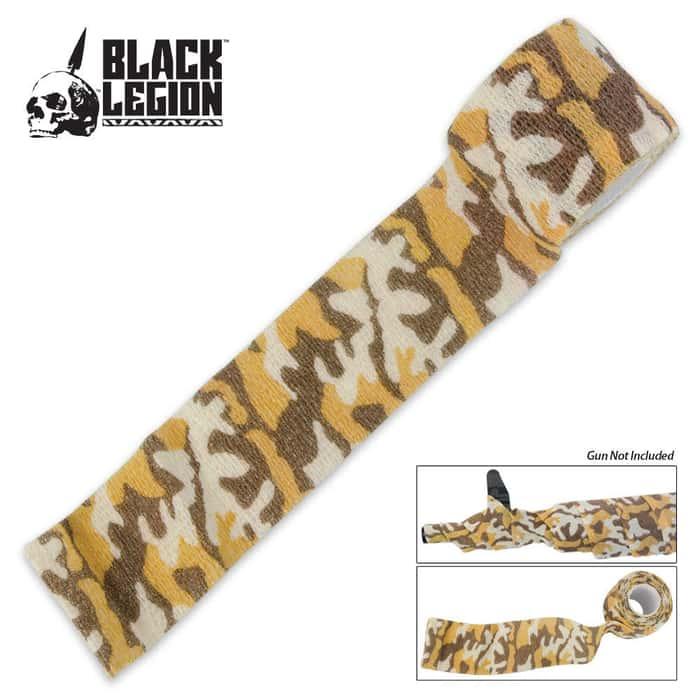 Black Legion Covert Gun Wrap Desert Camo