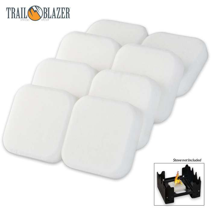 Trailblazer Solid Fuel Cube Tablets 8-Pack