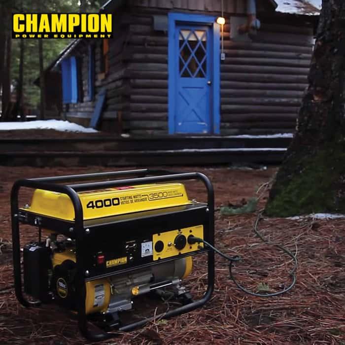 Champion 3500-4000W Open Frame Generator