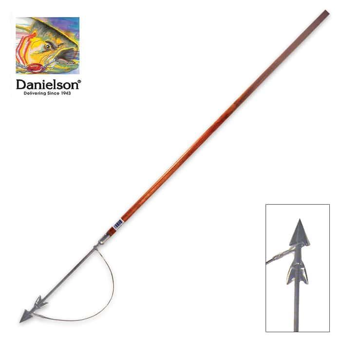 6-Ft Spearhead Tip Halibut Harpoon