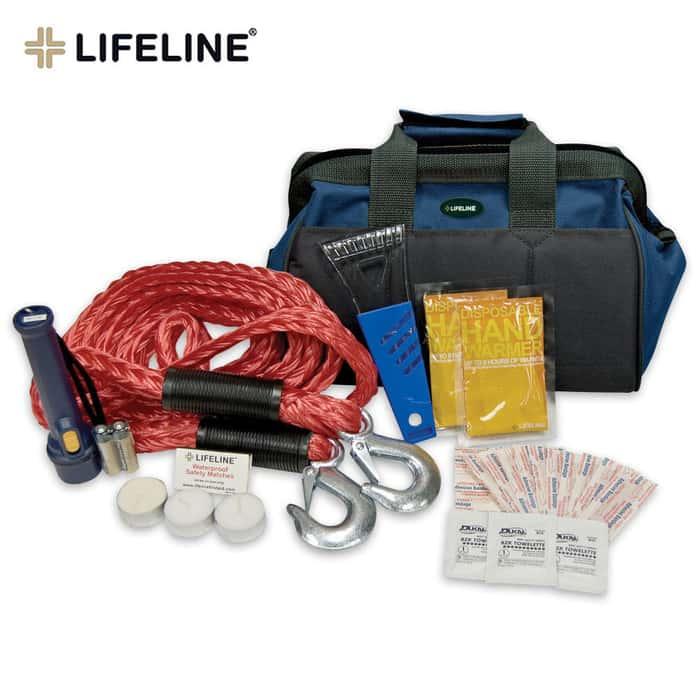 Lifeline Emergency Winter Kit In Carry Bag