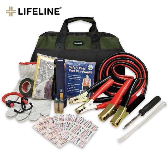 Lifeline Emergency Roadside Kit In Carry Bag