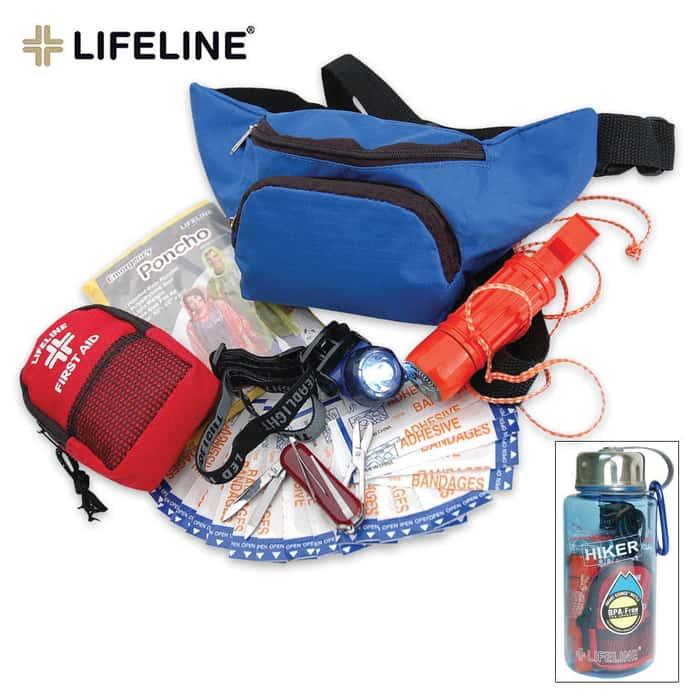 Lifeline Hiker Kit In A Bottle