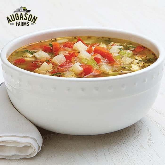 Augason Farms Vegetable Stew Blend - 6-Gallon Pail