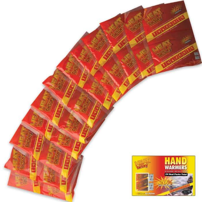 Heat Factory Hand Warmer Pack 12 Pair