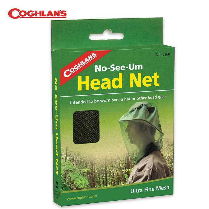 Coghlans Head Net With No-See-Um Mesh