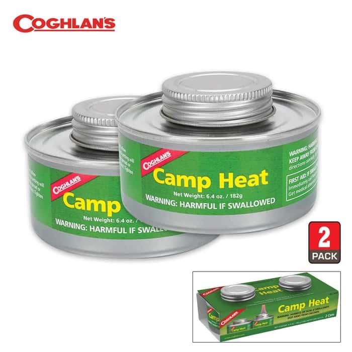 Coghlan's Camp Heat 2 Pack