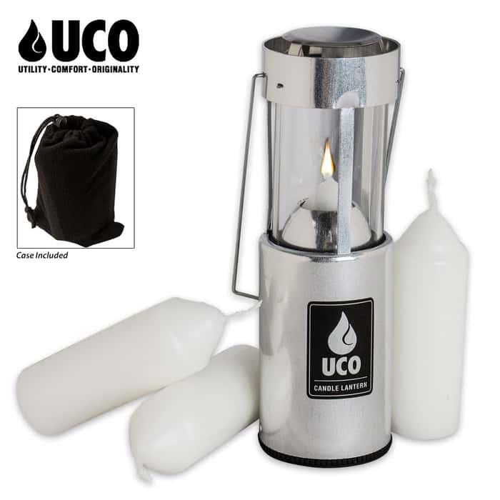 UCO Original Aluminum Candle Lantern - Value Pack