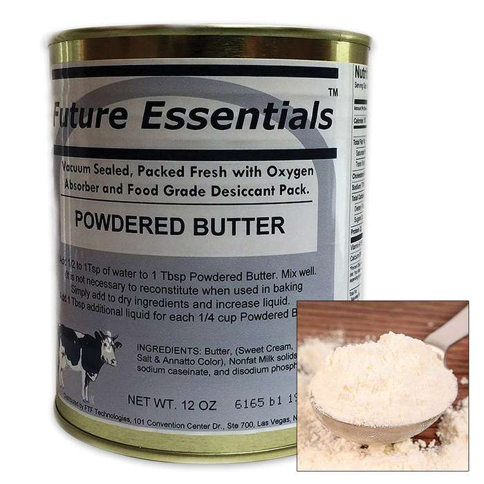Future Essentials 12-oz Canned Powdered Butter