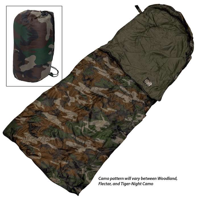 Snuggle up tight with this sleeping bag and you will be capable of handling virtually any weather condition