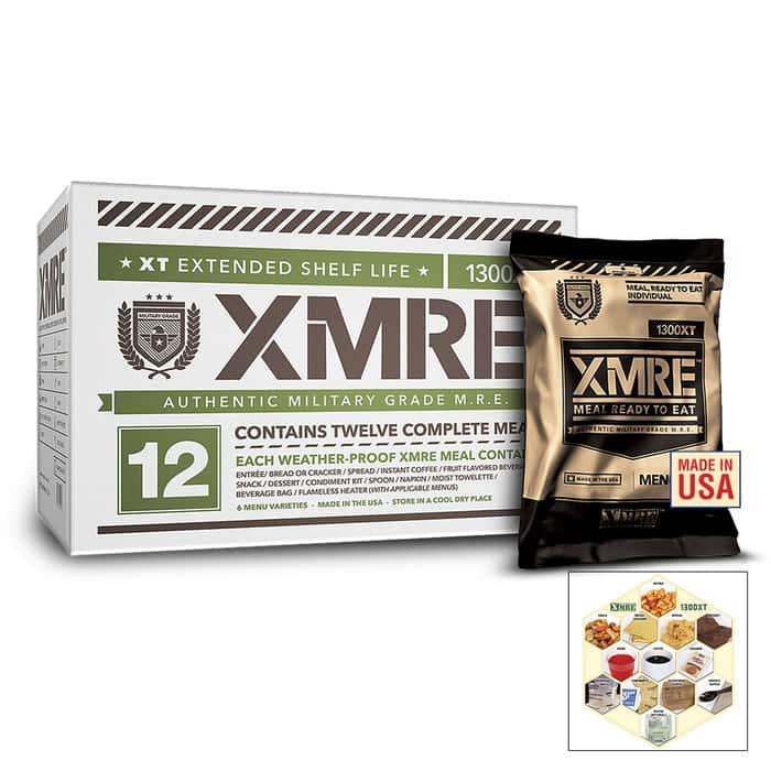 XMRE 1300XT Ready Meals