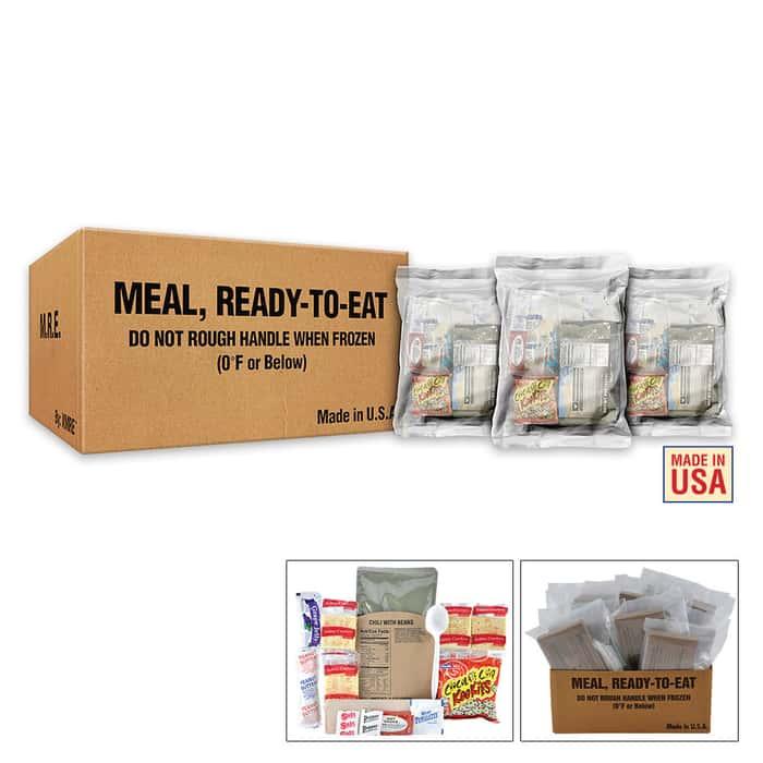 XMRE Lite Ready Meals Case