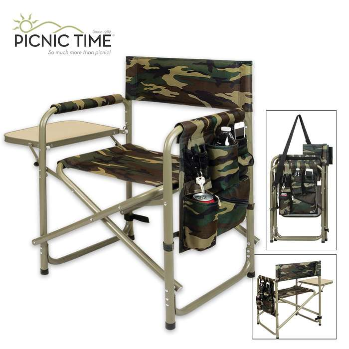 Camo Sports Chair - Ultimate Spectator Chair