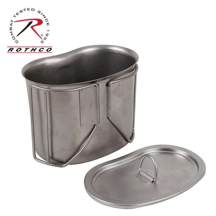 GI Canteen Cup SS Lid