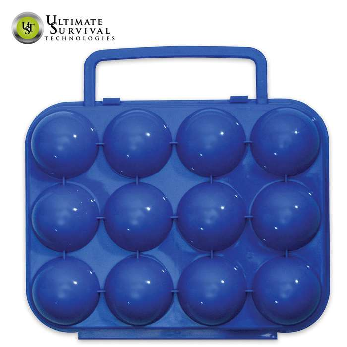 Blue Sky Gear Egg Carrier Container - Dozen Size