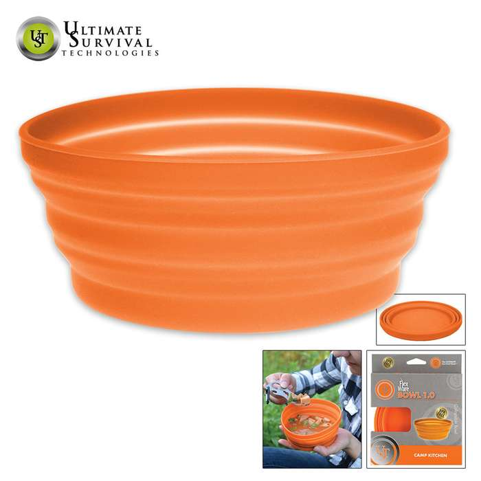UST FlexWare Bowl 1 Orange