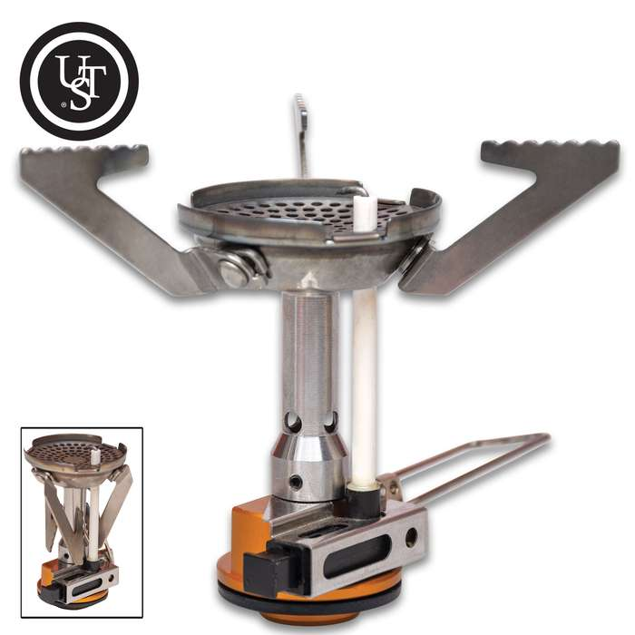 The Trekker Camping Stove is lightweight and compact, making it the perfect camp kitchen accessory for both hikers and backpackers