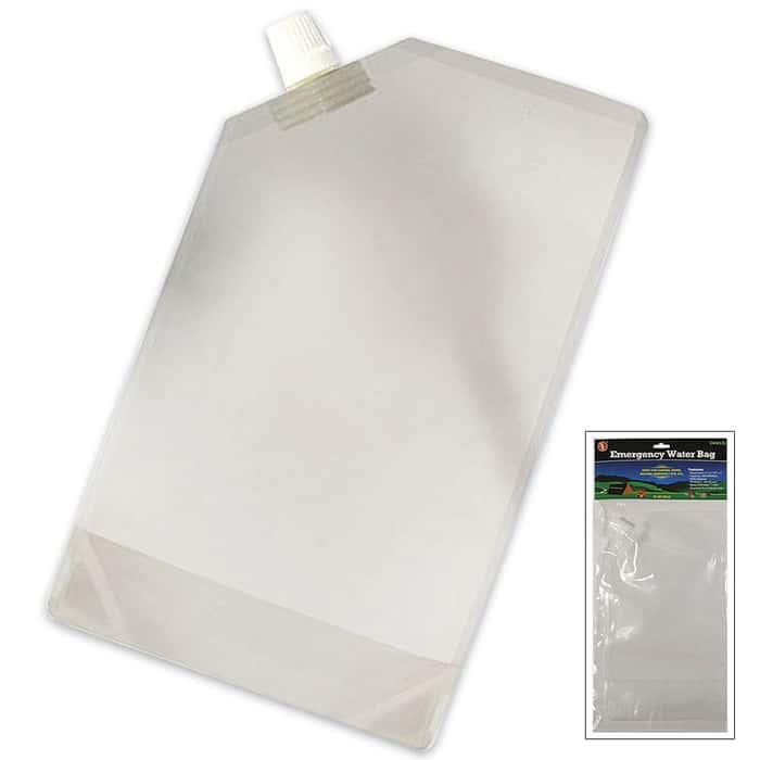 500 mL Emergency Survival Water Bag