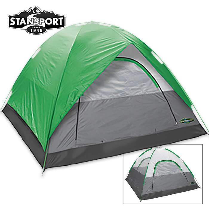 Cedar Mesa 3-Person Tent With Fly 7 ft x 7 ft x 54 in.