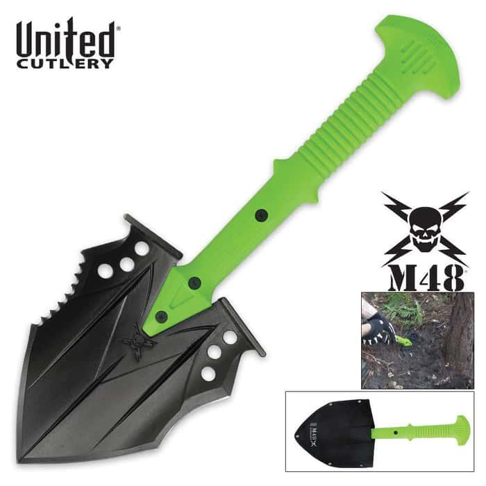 M48 Apocalypse Undead Survival Tactical Shovel