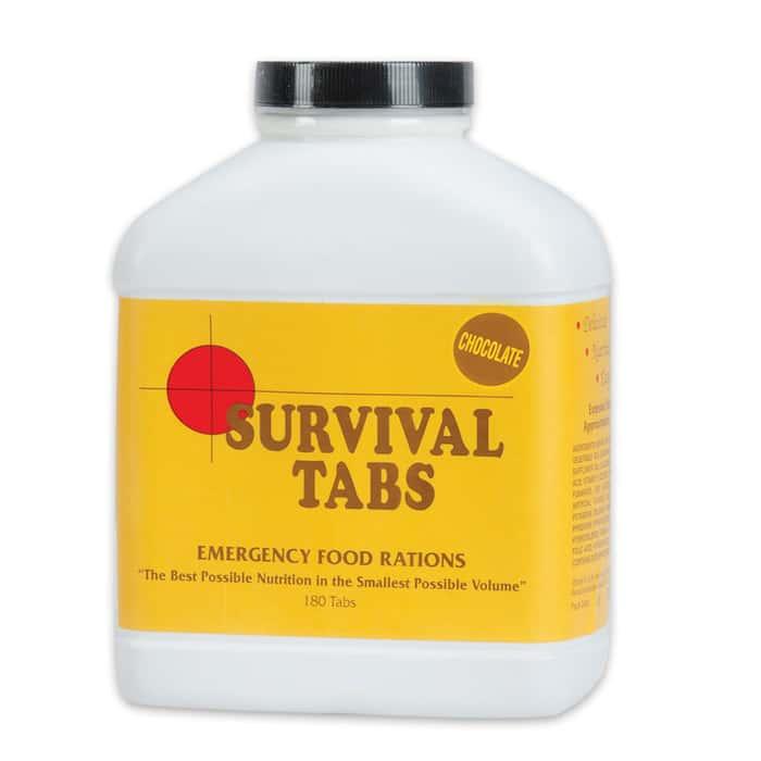 Survival Tabs Chocolate