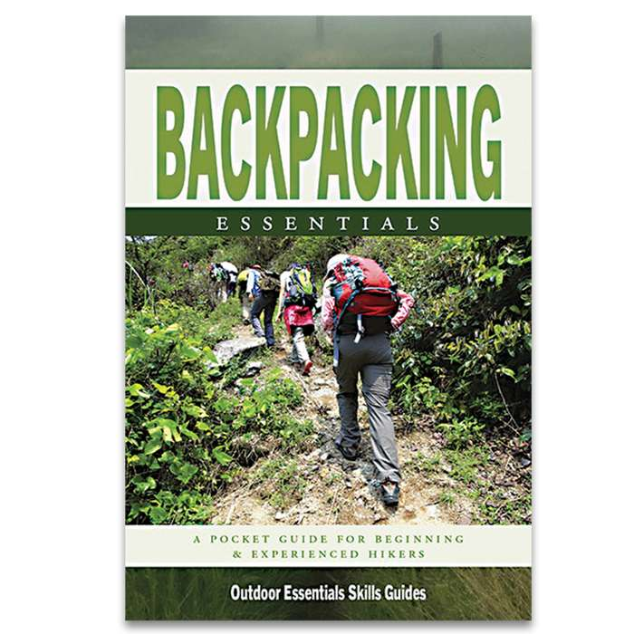 Backpacking Essentials Waterproof Field Guide - Compact Folding Format, Portable Detailed Information, Lightweight And Durable