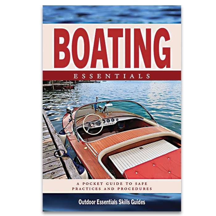 Boating Essentials Waterproof Field Guide - Compact Folding Format, Portable Detailed Information, Lightweight And Durable