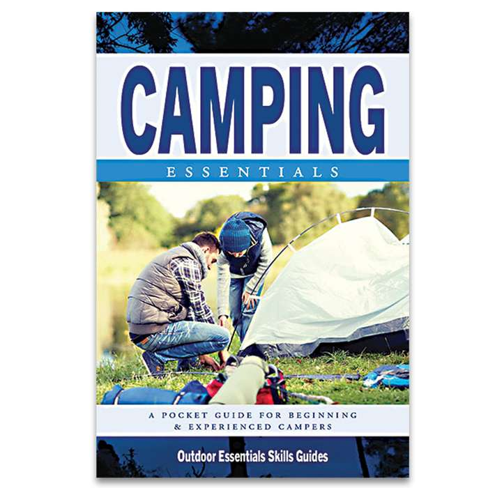 Camping Essentials Waterproof Field Guide - Compact Folding Format, Portable Detailed Information, Lightweight And Durable
