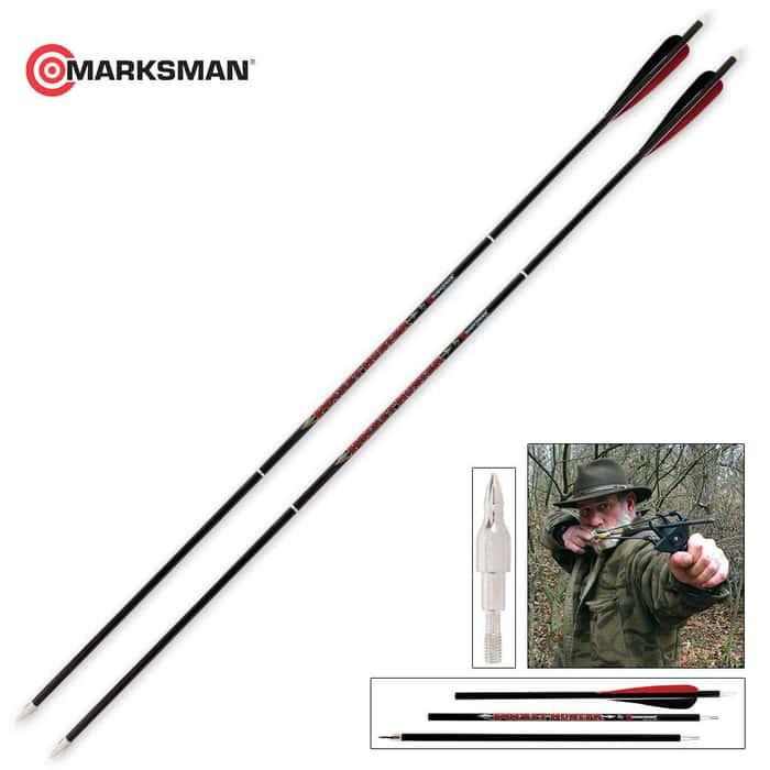 Break Down Carbon Arrow Kit Two Arrows