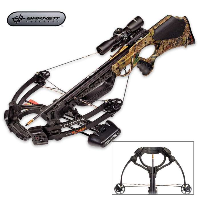 Barnett Buck Commander Extreme Crossbow With Accessories