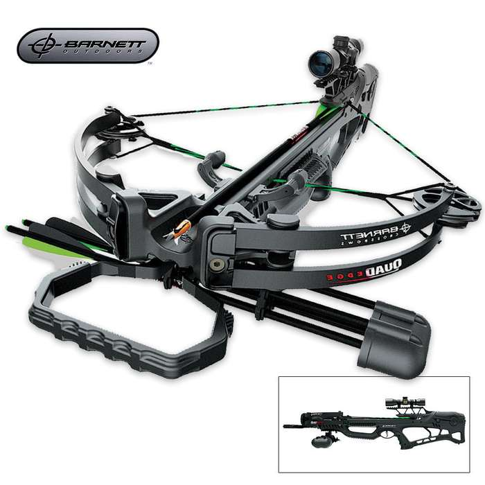 Barnett Quad Edge Crossbow And Accessories