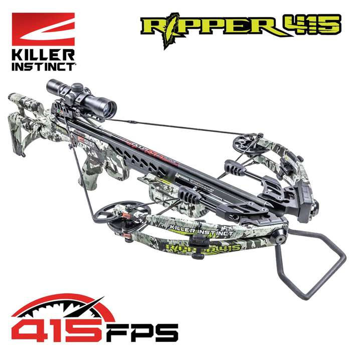 "The Killer Instinct Ripper 415 is the ""maddest of the mad"" when it comes to fast crossbows and that point is tough to argue"