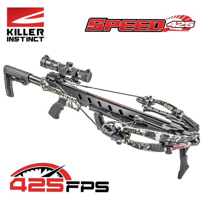 Emerge at the top of the food chain with the most powerful and fastest crossbow to date