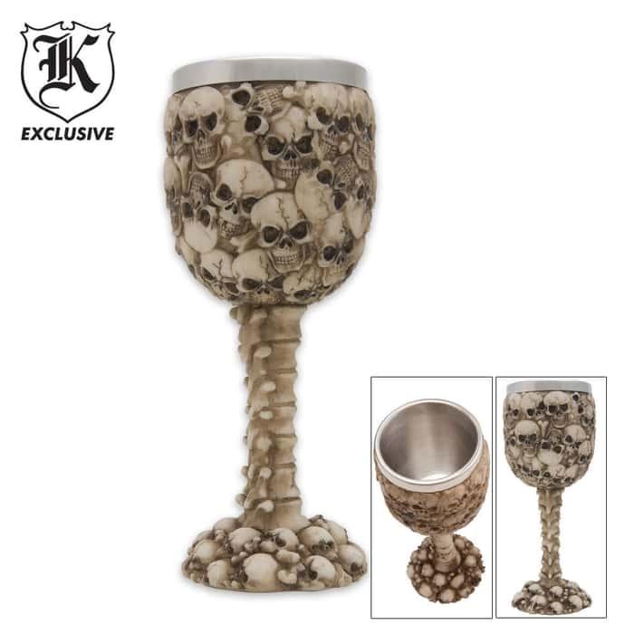 Skull Wine Goblet