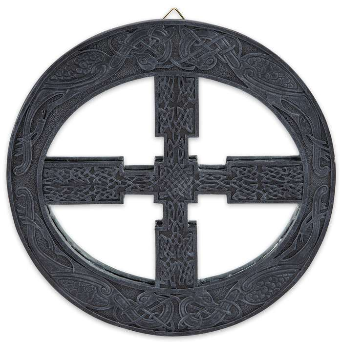 Celtic Wheel Mirror Wall Hanging