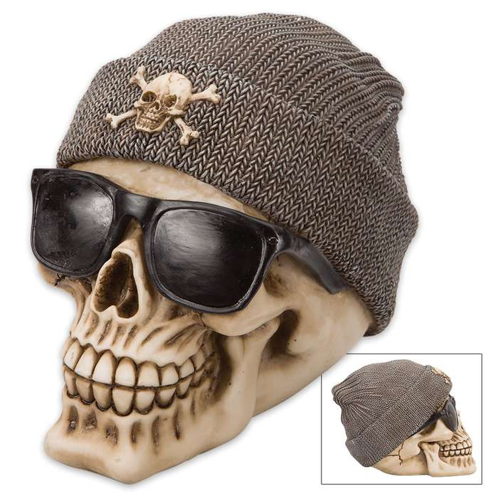 Bone Thug And Beanie Skullpture