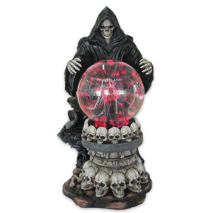 """""""Destroyer of Worlds"""" Electric Plasma Ball Statue"""