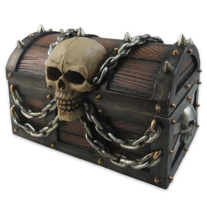 """Treasure of Terror"" Trinket Box"