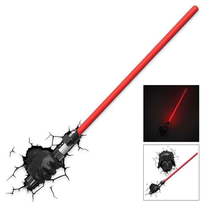 Darth Vader Light Saber With Hand
