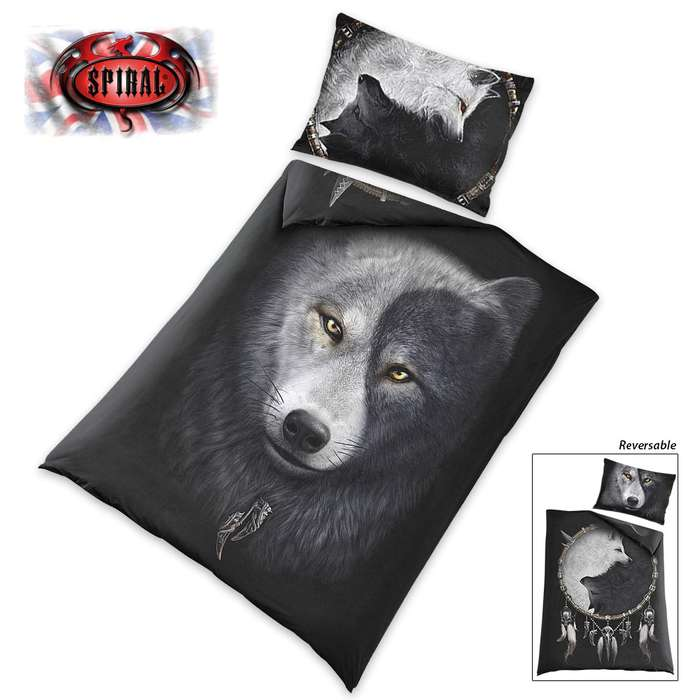 Wolf Chi Reversible Duvet Set