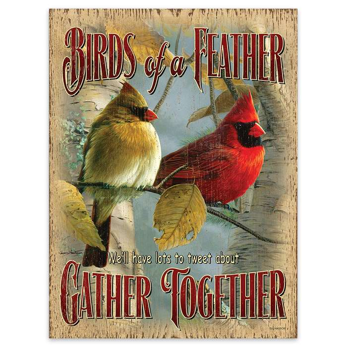 """Birds of a Feather Flock Together 