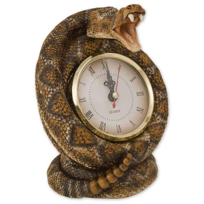 Rattlesnake Clock
