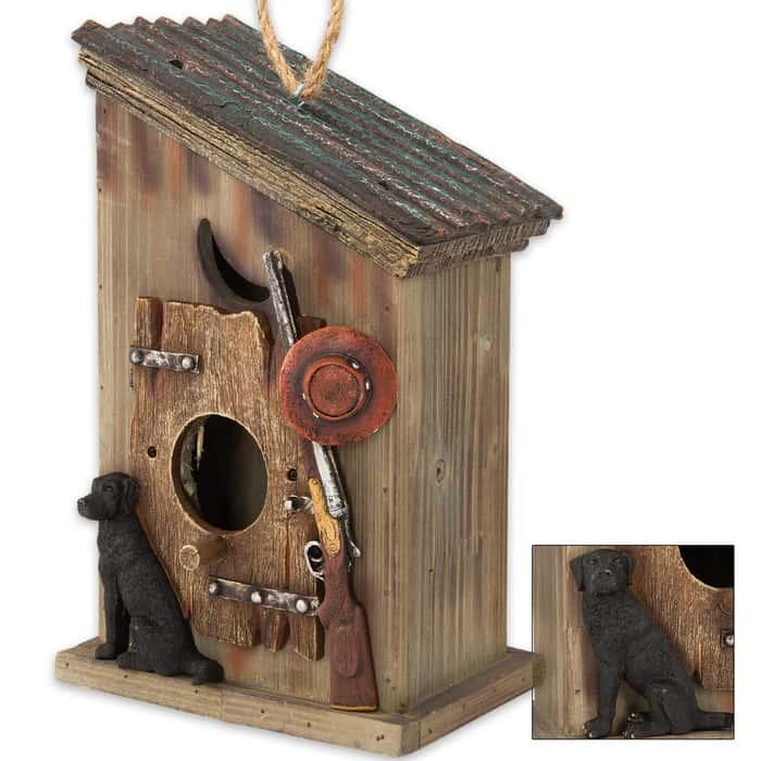 Hunting Shack Birdhouse