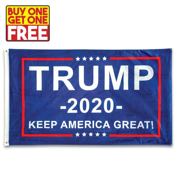 If you are supporting Donald Trump to be reelected in the 2020 presidential election, then you need this flag to fly