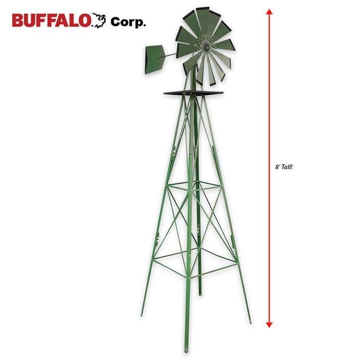 Decorative Country Windmill - 8 FT
