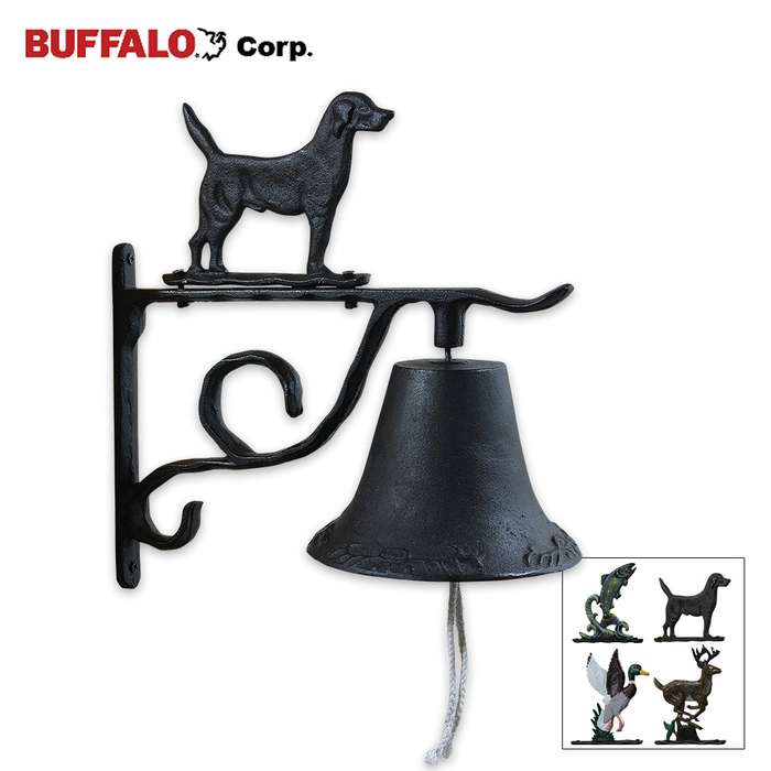 Cast Iron Country Bell Set