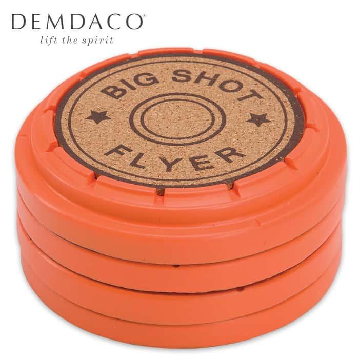 Big Shot Clay Pigeon Coaster Set