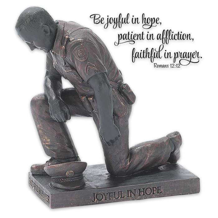 Called To Pray Collection Police Figurine
