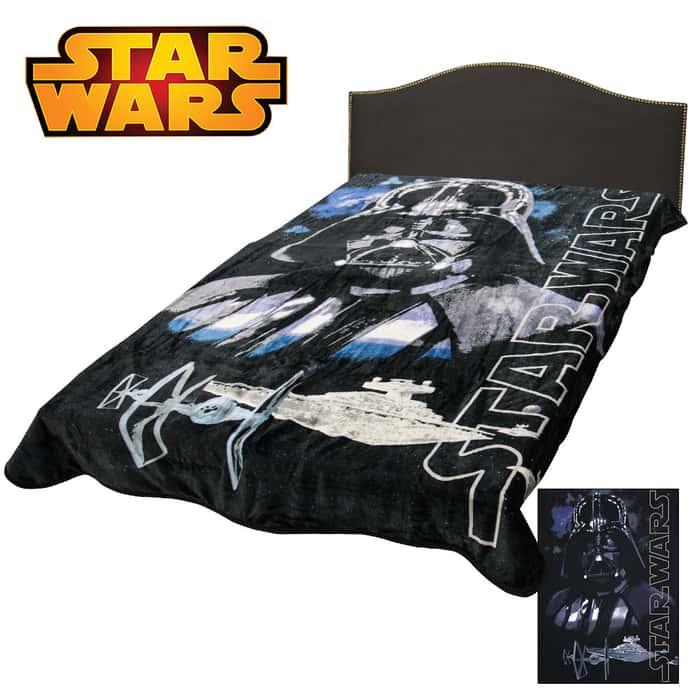 Star Wars Dark Lord Blanket Twin